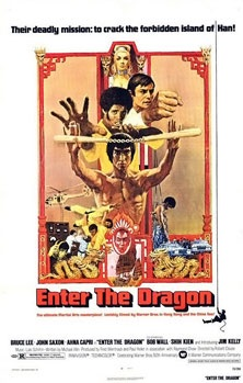 Enter the Dragon Movie Poster, 1973