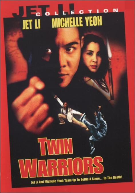 Twin Warriors Movie Poster, 1993, Actor: Jet Li Lian-Jie, Hong Kong Film