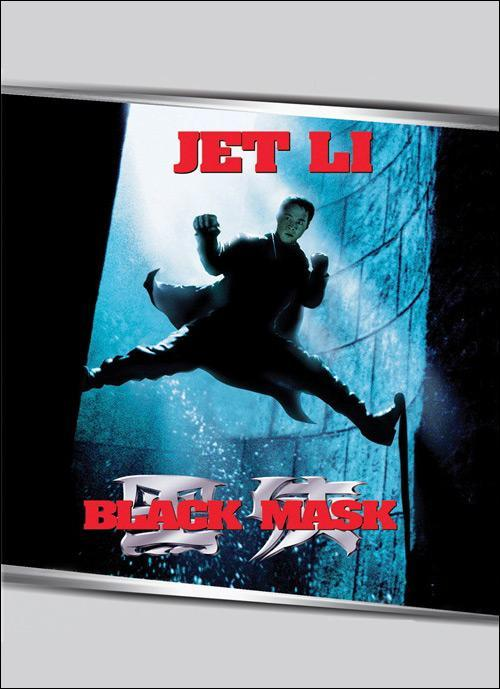 Black Mask Movie Poster, 1996, Actor: Jet Li Lian-Jie, Hong Kong Film