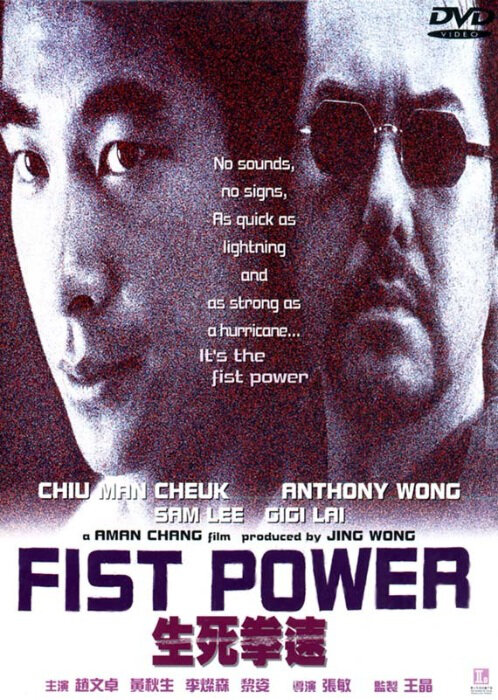 Actor: Vincent Zhao Wen-Zhuo, Hong Kong Film, Fist Power Movie Poster, 2000