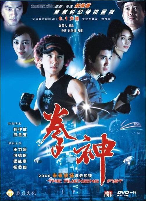 The Avenging Fist Movie Poster, 2001, Actress: Gigi Leung Wing-Kei, Hong Kong Film