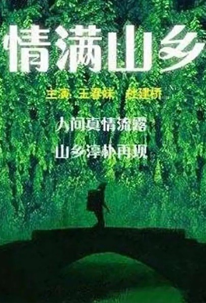 Love Fills the Mountain Village Movie Poster, 情满山乡 2005 Chinese film