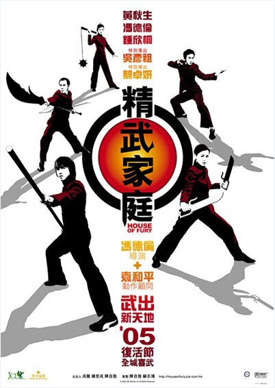 House of Fury Movie Poster, 2005, Actress: Gillian Chung Yun-Tong, Hong Kong Film