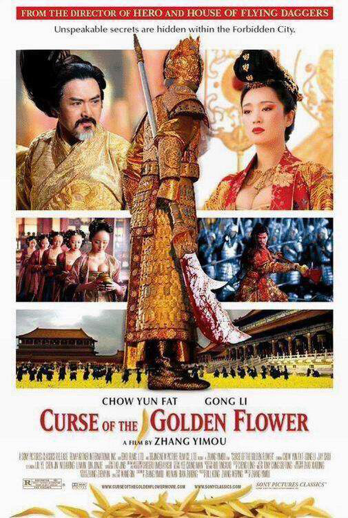 Curse of the Golden Flower Movie Poster, 2006, Actor: Chow Yun-Fat, Chinese Film