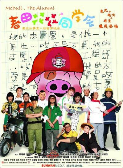 McDull, the Alumni Movie Poster, 2006, Actress: Gigi Leung Wing-Kei, Hong Kong Film