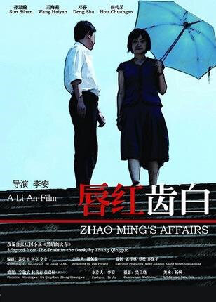 Zhao Ming's Affairs Movie Poster, 2008 Chinese Movie