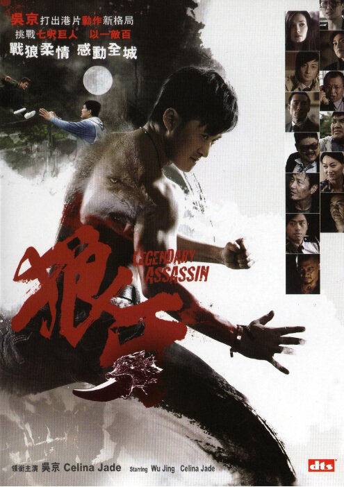 Legendary Assassin Movie Poster, 2008, Actor: Jacky Wu Jing, Hong Kong Film