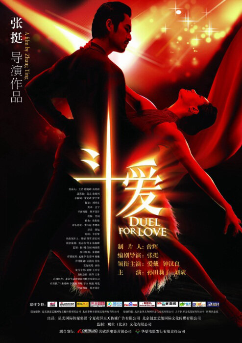 Duel for Love Movie Poster, 2009 Chinese movie