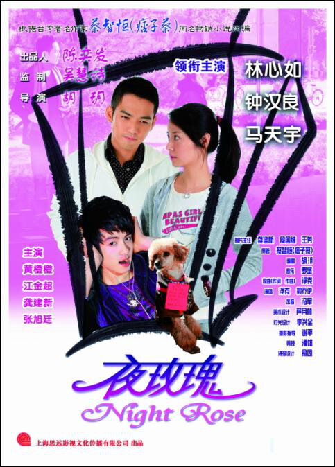 Evening of Roses Movie Poster, 2009, Actress: Ruby Lin  Xin-Ru, Chinese Film