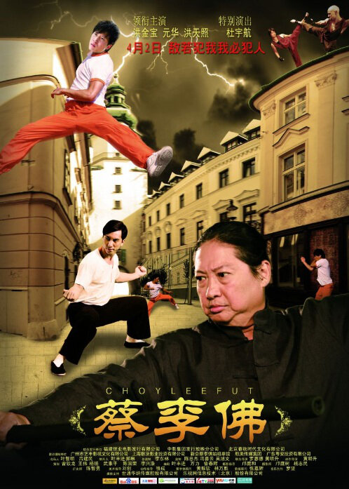 Choy Lee Fut Movie Poster, 2011 Chinese Action Movie