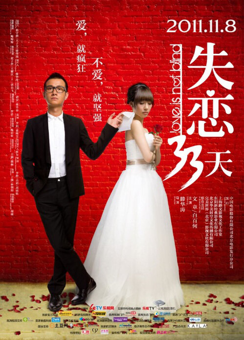 Love Is Not Blind Movie Poster, 2011 Chinese Romantic Comedies
