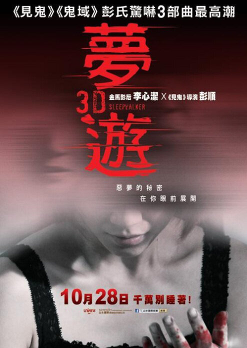 Sleepwalker Movie Poster, 2011 Chinese Horror Movie