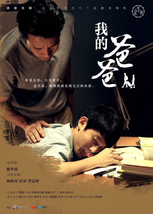 My Father Movie Poster, 2012 Chinese film