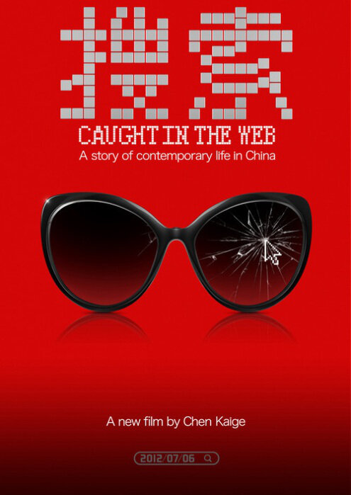 Caught in the Web Movie Poster, 2012