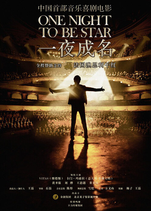 One Night to Be Star Movie Poster, 2012