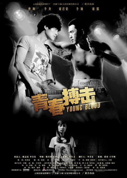 Young Blood Movie Poster, 2012, Cao Shuai