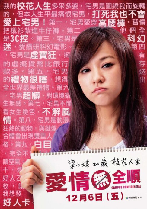 Campus Confidential Movie Poster, 2013 chinese films