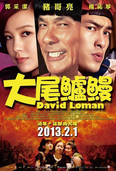 David Loman Movie Poster, 2013