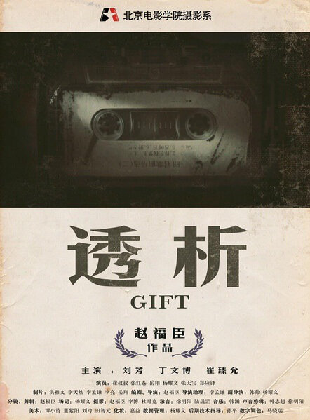 Gift Movie Poster, 2013 Chinese film