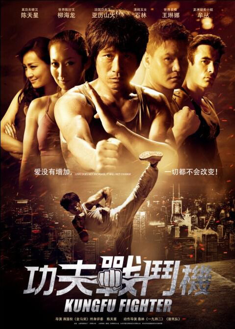Kung Fu Fighter Movie Poster, 2013