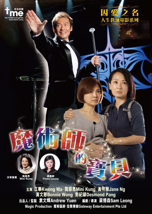 Magician's Treasure Movie Poster, 2013 Chinese film