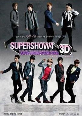 Super Show 4 3D Movie Poster, 2013 film