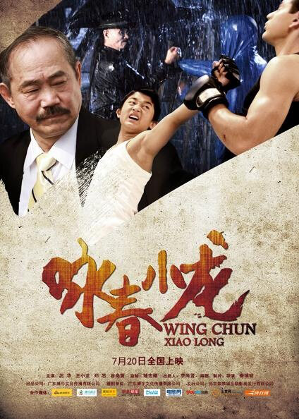 Wing Chun Xiao Long Movie Poster, 2013