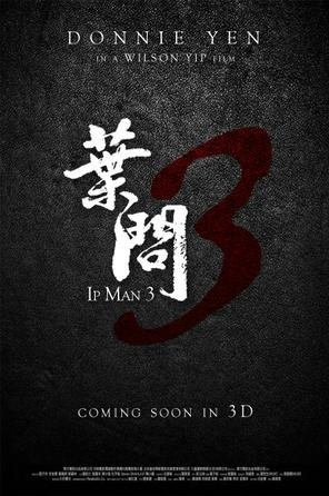 Ip Man 3 Movie Poster, 2013
