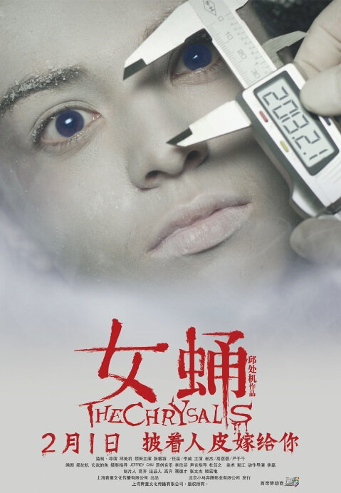 The Chrysalis Movie Poster, 2013, Chinese Horror Movie