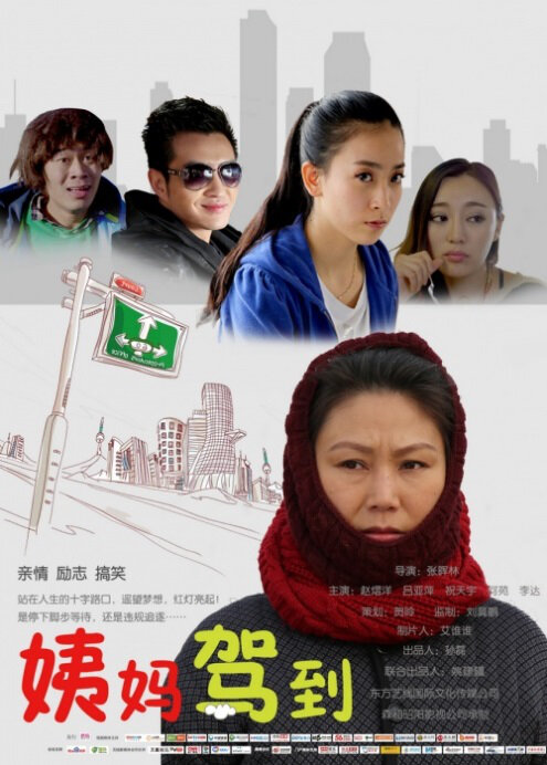 Aunt's Arrival Movie Poster, 2014 chinese movie