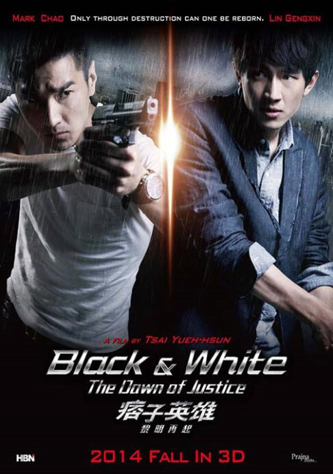 Black & White 2 Movie Poster, 2014 Chinese Thriller Movie