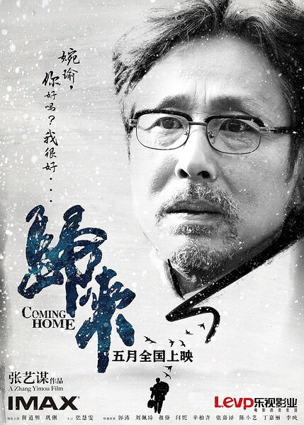 Coming Home Movie Poster, 2014