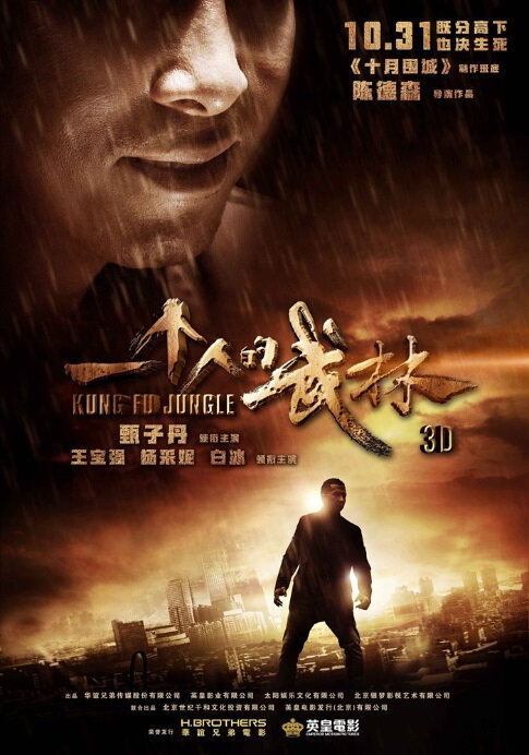 Kung Fu Jungle Movie Poster, 2014