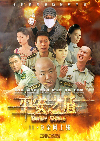 Safely Shield Movie Poster, 2014 chinese film