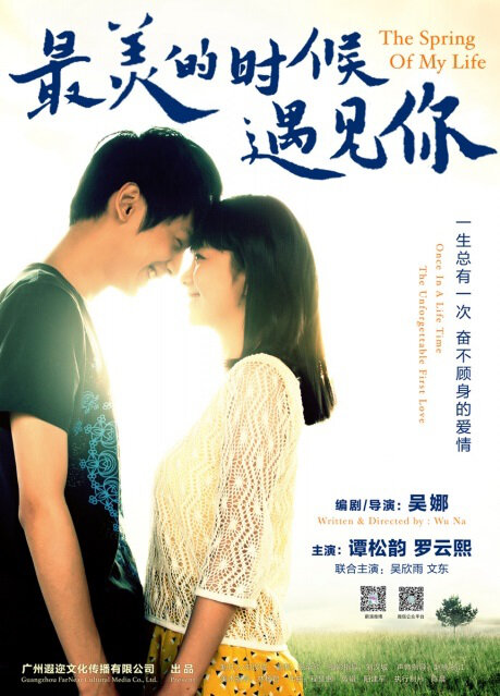 The Spring of My Life Movie Poster, 2014 chinese movie