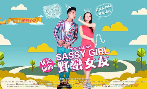 You Are My Sassy Girl Movie Poster, 2014, Terry Shi