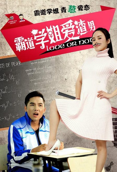 Love or Not Movie Poster, 2015 Chinese film