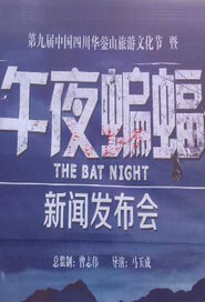 The Bat Night Movie Poster, 2015 chinese movie
