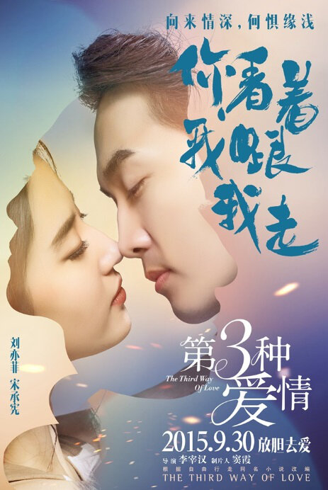 The Third Way of Love Movie Poster, 2015 Chinese film