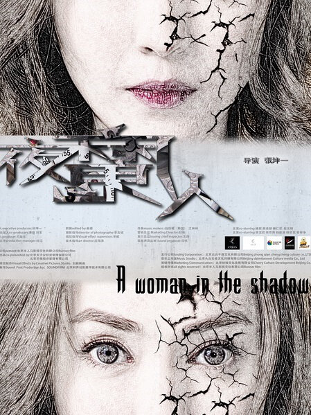 A Woman in the Shadow Movie Poster, 2016 Chinese film