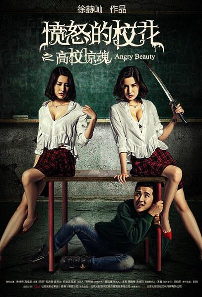 Angry Beauty Movie Poster, 2016 Chinese film