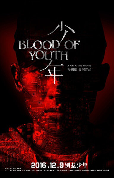 Blood of Youth Movie Poster, 2016 Chinese film