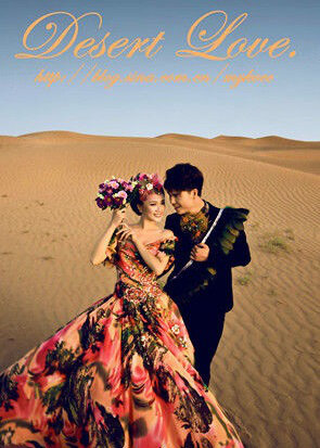Desert Love Movie Poster, 2016 Chinese film