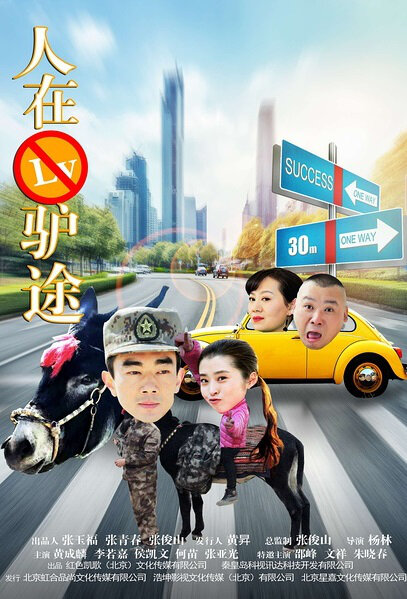 Following the Donkey Movie Poster, 2016 Chinese film
