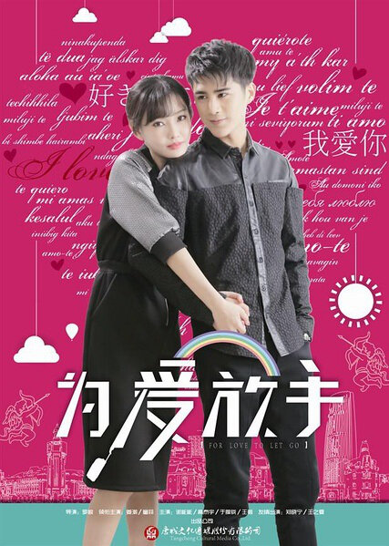 For Love to Let Go Movie Poster, 2016 chinese movie