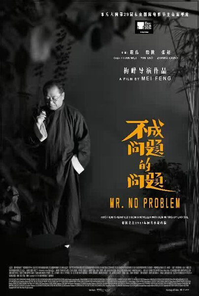 Mr. No Problem Movie Poster, 2016 Chinese film