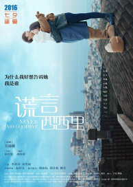 Never Said Goodbye Movie Poster, 2016 Chinese movie