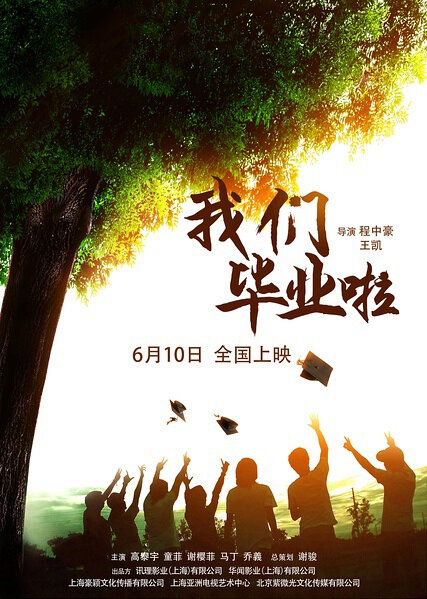 Our Graduation Movie Poster, 2016 Chinese film