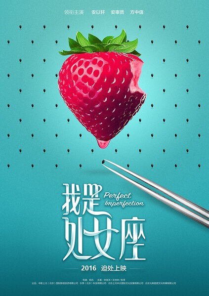 Perfect Imperfection Movie Poster, 2016 Chinese film