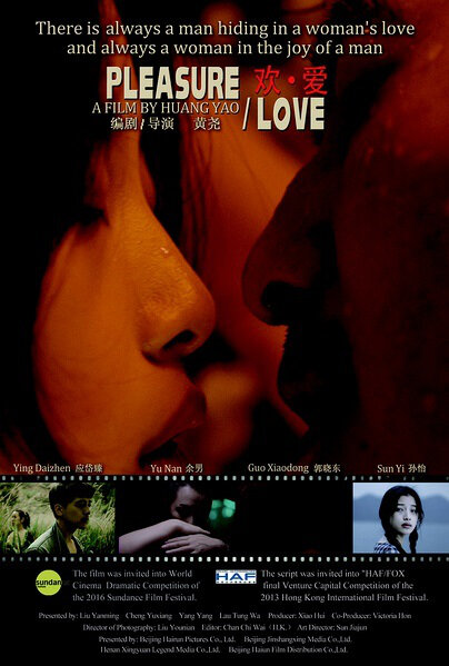 Pleasure Love Movie Poster, 2016 Chinese film